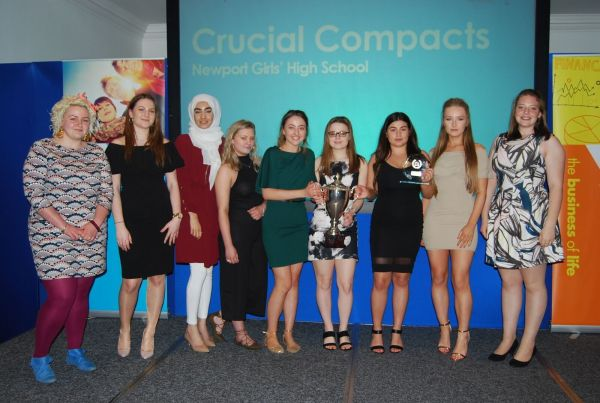 Shropshire Young Enterprise 2017 Winners - Crucial Compacts