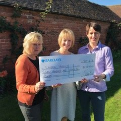 Always Consult Severn Hospice Tea Party Cheque
