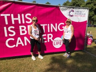 Race for Life - Cancer Research. Shrewsbury