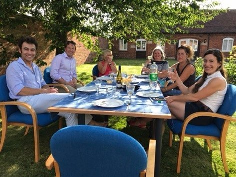 Always Consult's Business Coaches get together to make the best of the hot weather